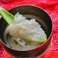 スープジャーで中華粥作りました♪ランチシステム追加してみました。