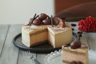 マロンムースコーヒーケーキ
