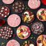 100均お弁当アルミカップで簡単華やか♪沢山配れるバレンタインパレットショコラ by ぱお