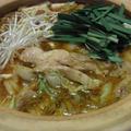 ピリ辛チキンごま醤油鍋 by しまちゅう(旅情家)さん