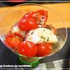 タコとミニトマトのバジルマリネ