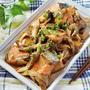 鮭と舞茸のこってり味噌マヨ炒め