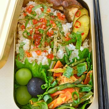 7月24日 土曜日 ベトナム風卵麩野菜炒め