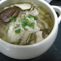 【スパイス】キノコの香り豊かなスープ
