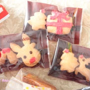 クリスマスに☆型抜きクッキー
