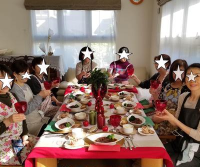 11月のレッスンはちょっと優雅なひと時を!≪ちょっとリッチなクリスマス料理≫