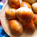 レーズン酵母のバターロール