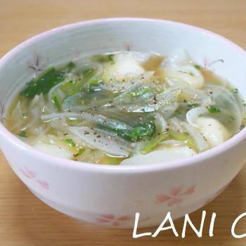 えび餃子スープ