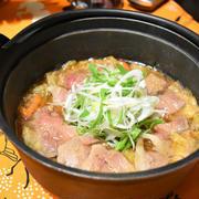 【ヤマキだし部】ぼたん鍋。冬においしいジビエの猪肉を使ったあったかお鍋。