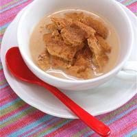簡単朝食!シナモンミルクティーのフルーツグラノーラ。