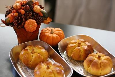 かぼちゃあんぱん♪レシピ*