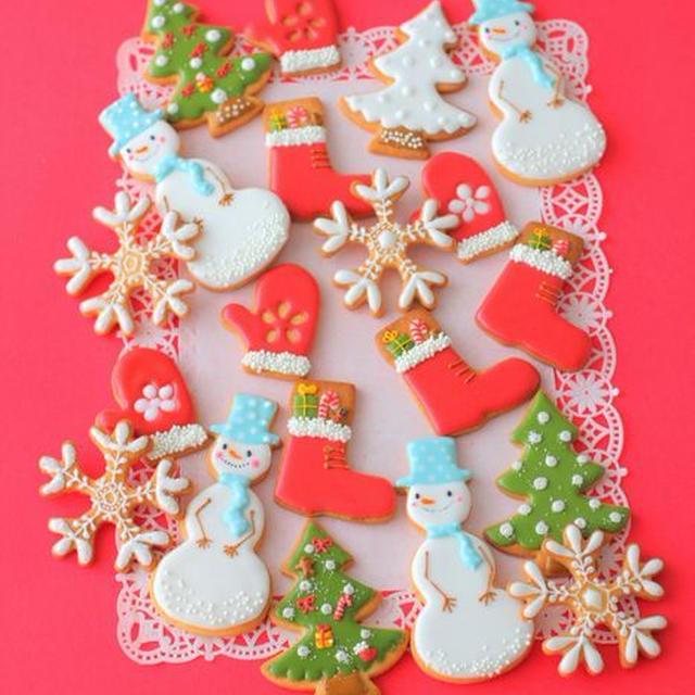 クリスマスアイシングクッキーの会♪
