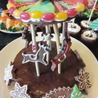 メリーゴーランド・ケーキ!