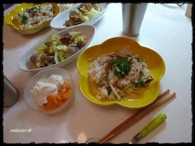 塩サバで散らし寿司☆