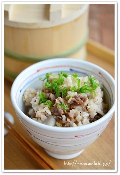 里芋肉ごはん【作りおきレシピ】