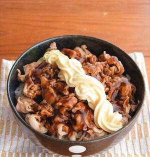 広島県呉市のB級グルメ「肉玉ライス」の再現レシピ