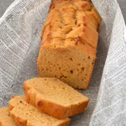 ピーナツきなこクリームのパウンドケーキ。(バター不使用)と用例集。