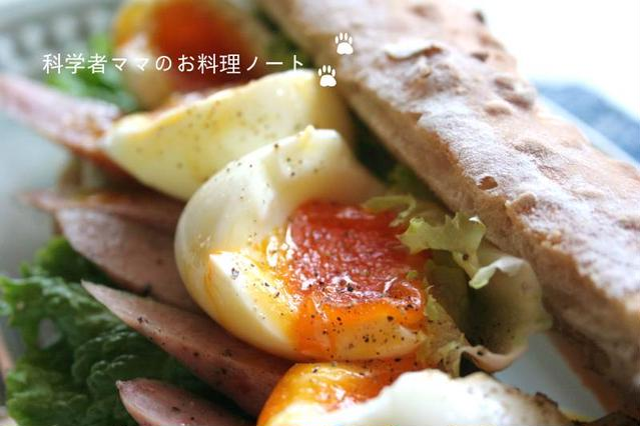 4. とろとろ卵のバゲットサンド