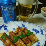 肉巻き筍と蕗ご飯☆筍料理続きます☆
