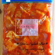 下味冷凍♡一歩手前作りおきが便利です♡『鶏むね肉のトマト漬け』《簡単*節約*作り置き》