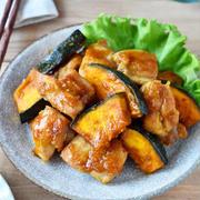 ごはんが進む!「鶏もも肉×かぼちゃ」のメインおかずレシピ