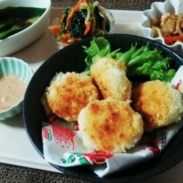 肉なし♬おから×豆腐ナゲット♪節約&ヘルシーダイエット