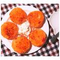 カットトマト缶活用♪混ぜて焼くだけ簡単!「イタリアン焼きおにぎり」