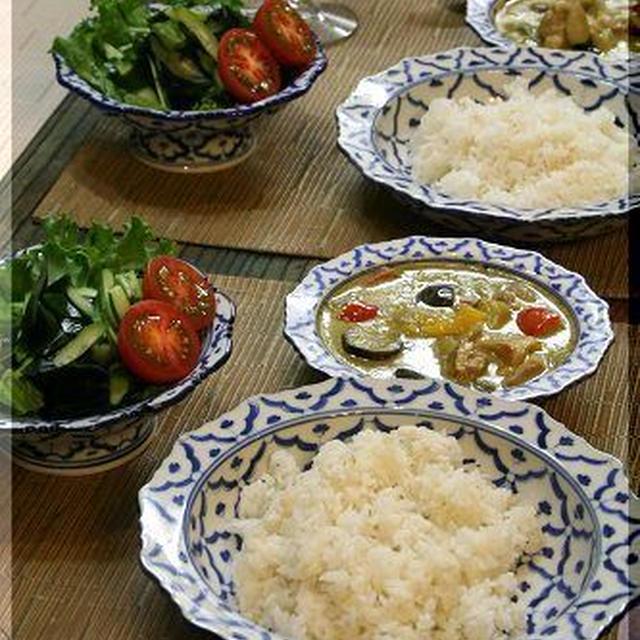 ◆カレー好きの日本人ですが・・・グリーンカレー大好きです♪