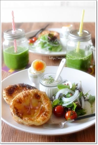 休日の朝ごはんとグリーンスムージーレシピ