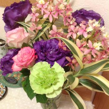 お花いっぱい~