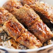 サバの水煮缶詰の「うなぎもどき」、うなぎもどきのうな丼風
