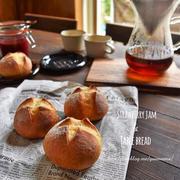 手作りイチゴジャムと30分で作るふっくらもっちりパン