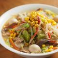 長崎ちゃんぽん 、  重曹でパスタを茹でると中華麺になる!