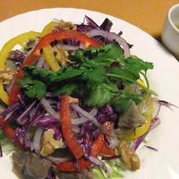 砂肝のコンフィ カラフルサラダ仕立て