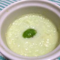 枝豆ヨーグルトの優しいムース
