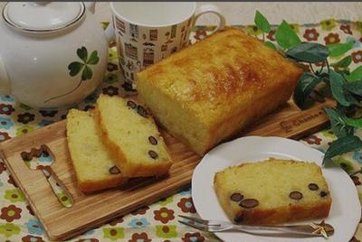 クックパッド話題レシピになりました【栗きんとんと黒豆リメイク♡パウンドケーキ 】
