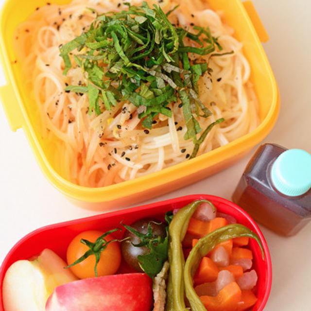 9月24日 水曜日 もやしナムルののっけ麺&塩麹そぼろと半熟卵のぶっかけ麺