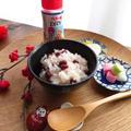 炊飯器で小正月の小豆粥☆伯方の塩DRY使用