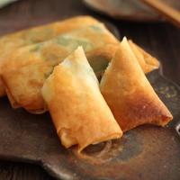 【レシピ】えび&クリームチーズ&大葉の春巻き