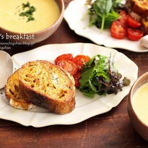 朝食やランチにオススメ!「お食事系フレンチトースト」5選