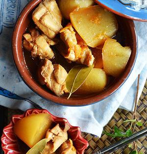 ハーブ鶏と大根の爽やか煮込まない煮込み 簡単で美味しいよ~♪