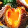 半熟卵の肉巻きスコッチエッグ