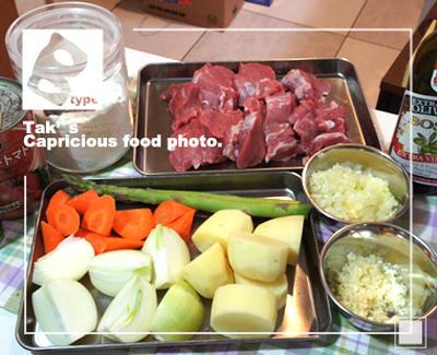 豚ヒレ肉のトマトシチュー