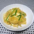 ★とろーり卵の親子丼と塩昆布と豆腐の梅すまし汁★