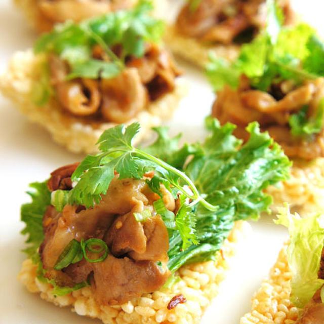 エバラ具沢山でベトナムスタイル前菜