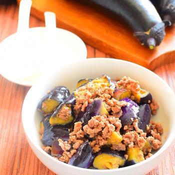 【レンジでやわらか】なすのピリ辛みそ炒めのレシピ