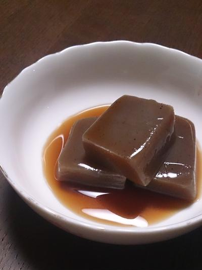 カロリー糖分ゼロでしっかり美味しい☆ラカントSでこんにゃく炊いたよ!