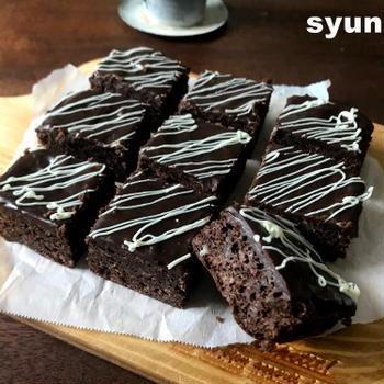 【バレンタインに】レンジで濃厚しっとり!生チョコケーキキューブ