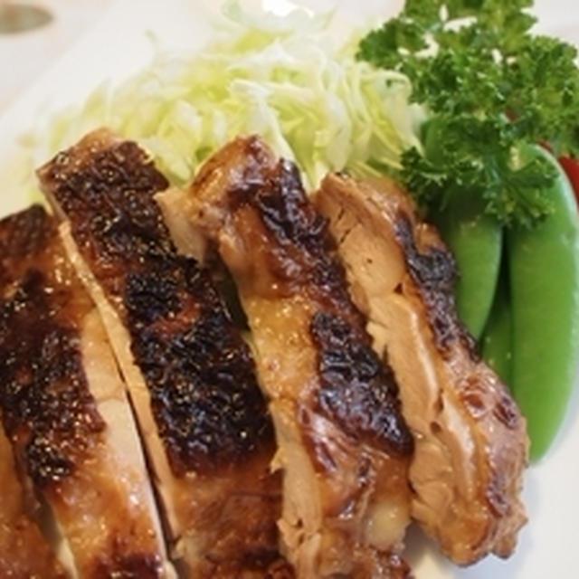 鶏もも肉の醤油麹焼き