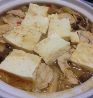 白菜の味噌鍋!味噌がミソ!